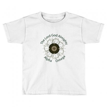 Almighty Toddler T-shirt Designed By Benoyjustus