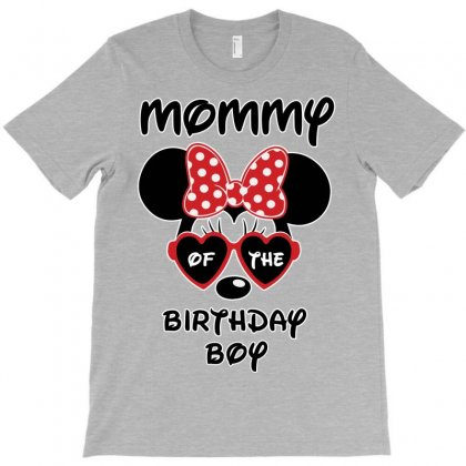 Mommy Of The Birthday Boy T-shirt Designed By Tshiart