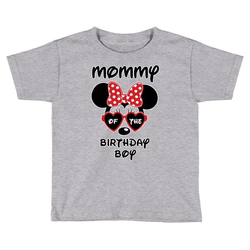 Mommy Of The Birthday Boy Toddler T Shirt