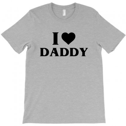 I Heart Daddy T-shirt Designed By Tshiart