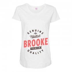 Brooke Maternity Scoop Neck T-shirt | Artistshot
