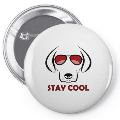 Stay Cool Pin-back Button Designed By Igun
