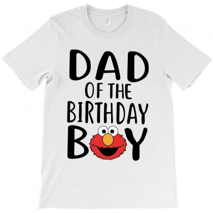 Elmo Dad Black Print T-shirt Designed By Tshiart