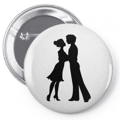 Silhouette Pin-back Button Designed By Igun