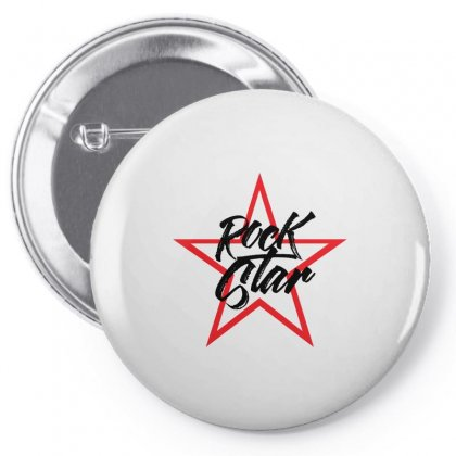 Rock Star Pin-back Button Designed By Igun