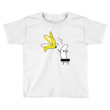 Banana Toddler T-shirt Designed By Wizarts