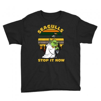Seagulls Stop It Now Vintage Shirt Youth Tee Designed By Wizarts
