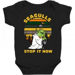 seagulls stop it now vintage shirt Baby Bodysuit | Artistshot