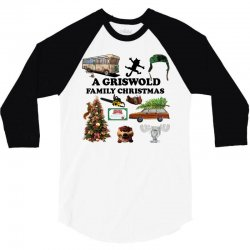 a griswold family christmas 3/4 Sleeve Shirt   Artistshot