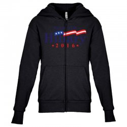 Ready For Hillary 2016 Youth Zipper Hoodie | Artistshot