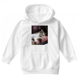 Top of cat in the world is hanger Youth Hoodie | Artistshot