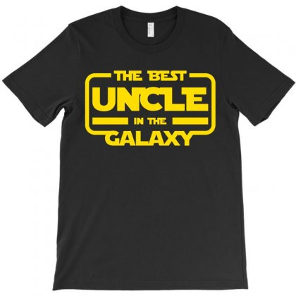 The Best Uncle In The Galaxy T-shirt Designed By Nurbetulk