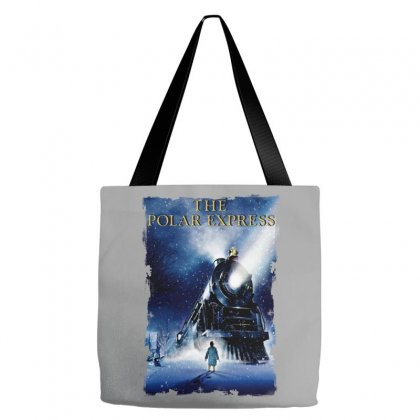 The Polar Express Christmas Tote Bags Designed By Sengul