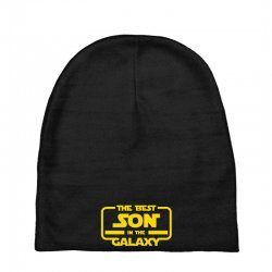 the best son in the galaxy Baby Beanies | Artistshot