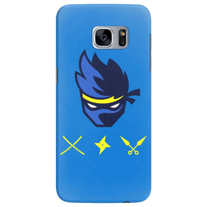 online store 6e5b1 2bc75 Fortnite Ninja With Weapons Samsung Galaxy S7 Edge Case. By Artistshot