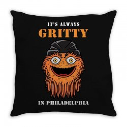it's always gritty Throw Pillow | Artistshot