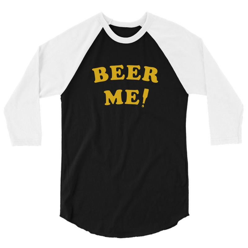 65c1ca9c beer me t shirt vintage beer t shirt funny beer shirt saying party tee 3/4  Sleeve Shirt