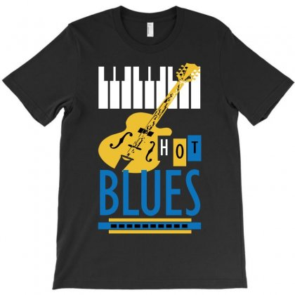 Blues T-shirt Designed By Igun
