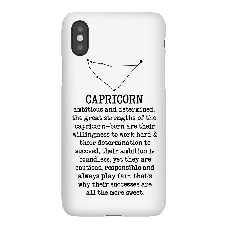 3d06a217c6ab Custom Capricorn Features For Light Iphonex Case By Sengul - Artistshot