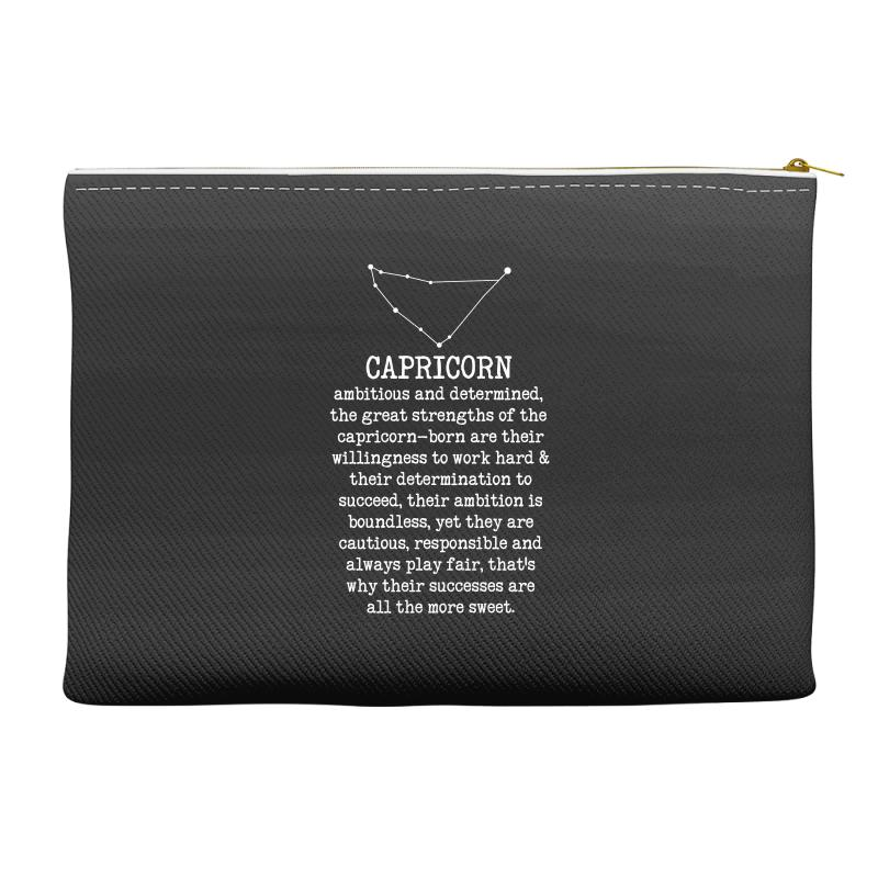 f593af49809c Custom Capricorn Features For Dark Accessory Pouches By Sengul ...