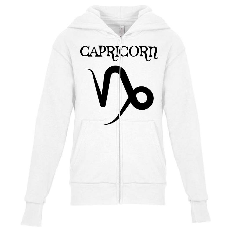 dd8949f0dadb Custom Capricorn Symbol For Light Youth Zipper Hoodie By Sengul ...