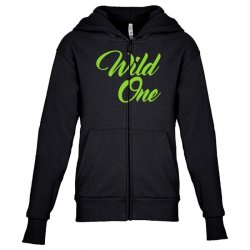 Wild One Youth Zipper Hoodie | Artistshot