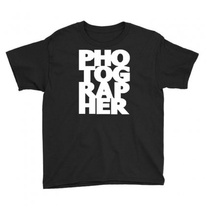 Gift For Photographer Youth Tee Designed By Mdk Art