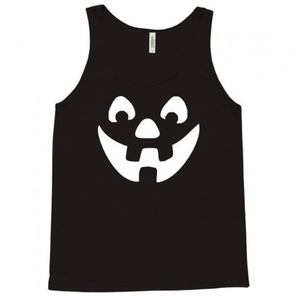Jack O Lantern Halloween Tank Top Designed By Mdk Art