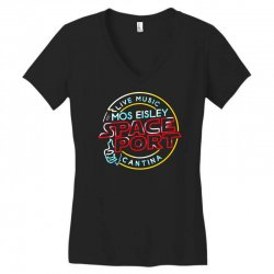 mos eisley space port Women's V-Neck T-Shirt | Artistshot