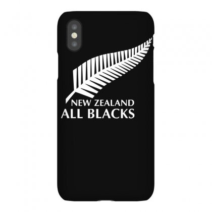 New Zealand All Blacks Rugby Iphonex Case Designed By Mdk Art