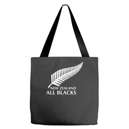 New Zealand All Blacks Rugby Tote Bags Designed By Mdk Art