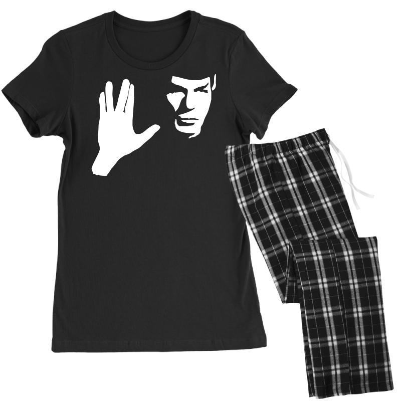 Spock Star Trek Leonard Nimoy Tribute Women's Pajamas Set | Artistshot
