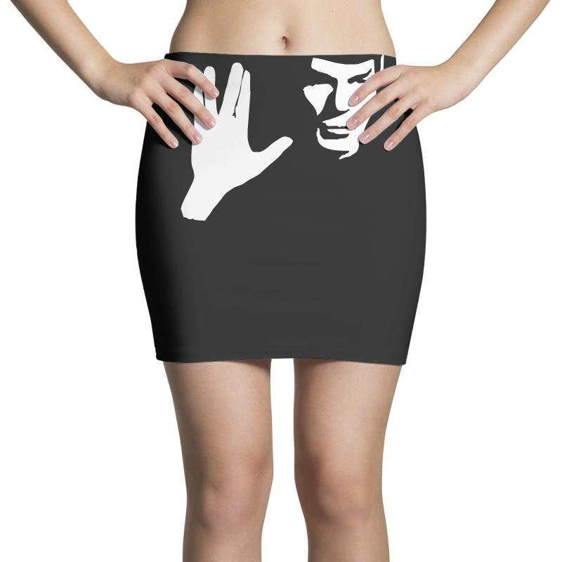 Spock Star Trek Leonard Nimoy Tribute Mini Skirts | Artistshot