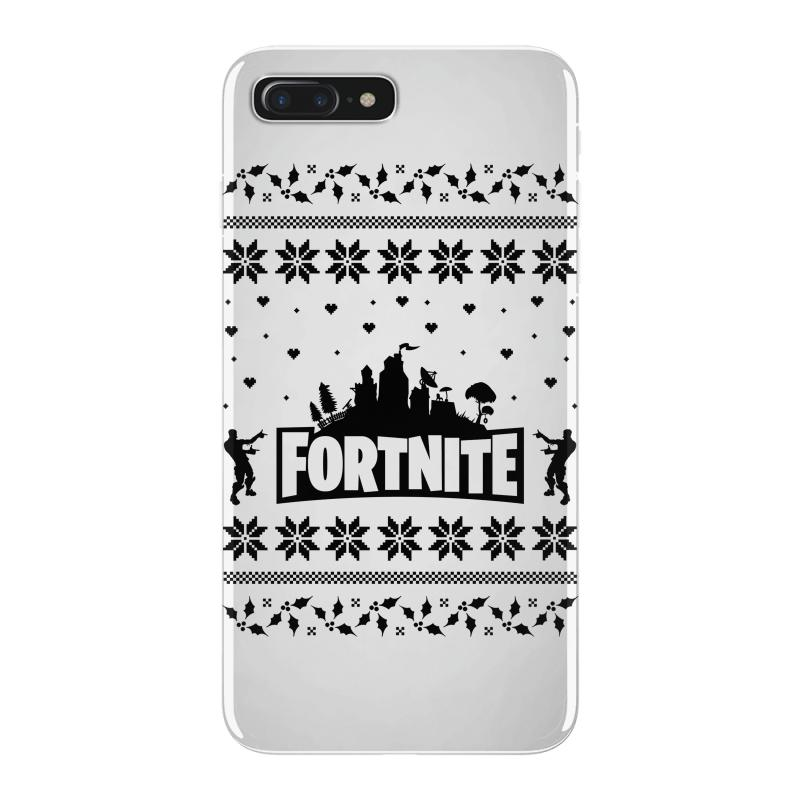 e31db7f69 Custom Fortnite Christmas Ugly Sweater Iphone 7 Plus Case By ...
