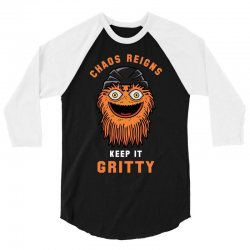 chaos reigns keep it gritty 3/4 Sleeve Shirt | Artistshot