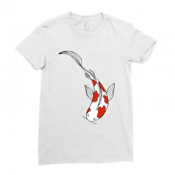 bright fun koi fish Ladies Fitted T-Shirt | Artistshot