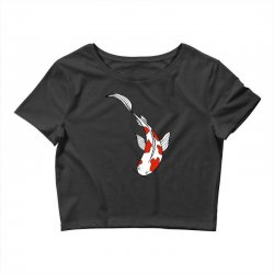 bright fun koi fish Crop Top | Artistshot