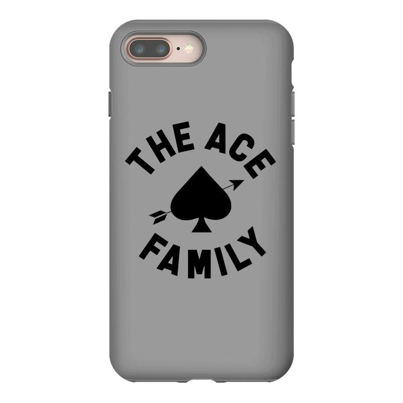ea882a8bdf7b Custom The Ace Family Black Print Iphone 8 Plus Case By Tshiart ...