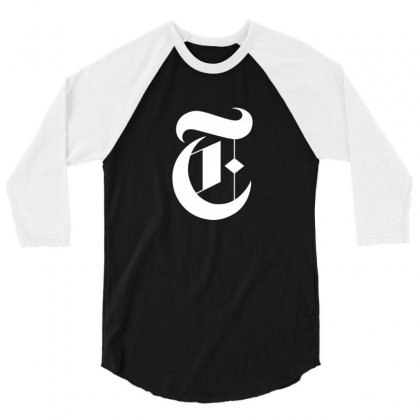 New York Times 3/4 Sleeve Shirt Designed By Defit89