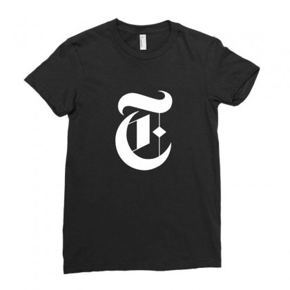 New York Times Ladies Fitted T-shirt Designed By Defit89