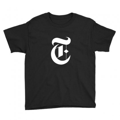 New York Times Youth Tee Designed By Defit89