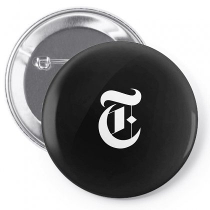 New York Times Pin-back Button Designed By Defit89