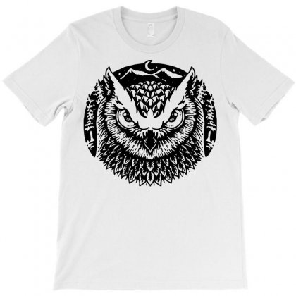 Owly T-shirt Designed By Quilimo