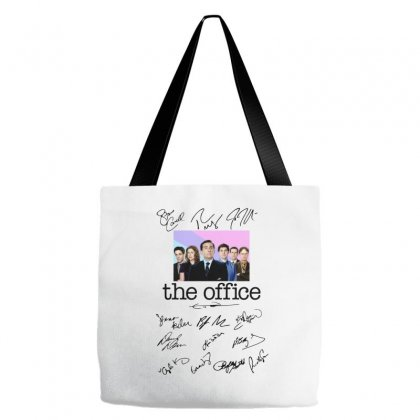 The Office Signed Script Tote Bags Designed By Sengul