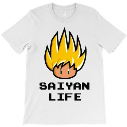Saiyan Life T-shirt Designed By Irp4n
