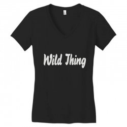 wild thing Women's V-Neck T-Shirt | Artistshot