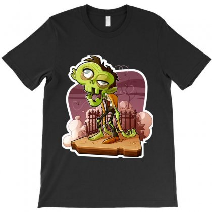 The Zombie T-shirt Designed By Irp4n