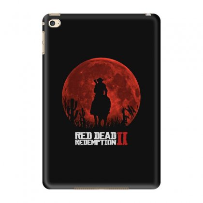 Red Moon   Cowboy Ipad Mini 4 Case Designed By Blqs Apparel