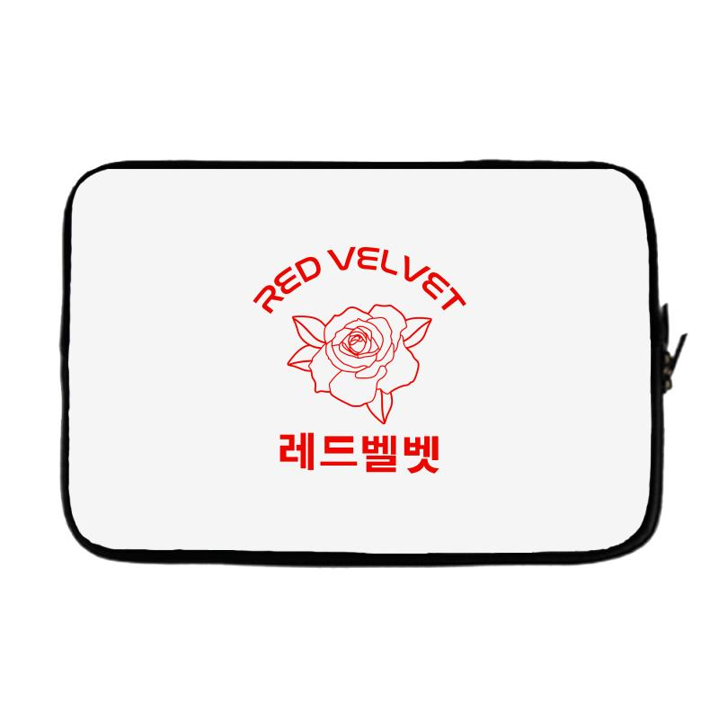 43de0e3e6b6a9 Custom Red Velvet Laptop Sleeve By Sengul - Artistshot