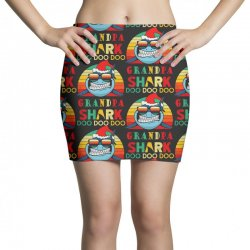 christmas granpa sharks-retro vintage Mini Skirts | Artistshot